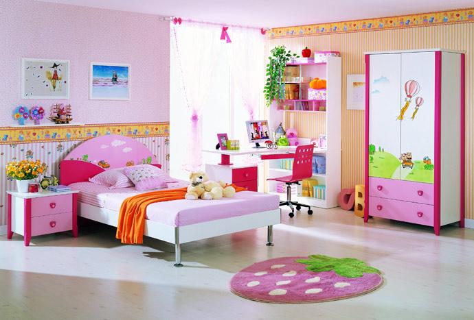 Выбрать детскую мебель для девочки