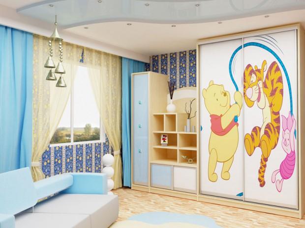 Шкаф купе в детскую