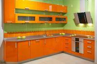 Акриловые кухни. Роскошь, доступная каждому